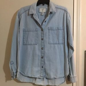 Forever 21 Tops - Denim button down